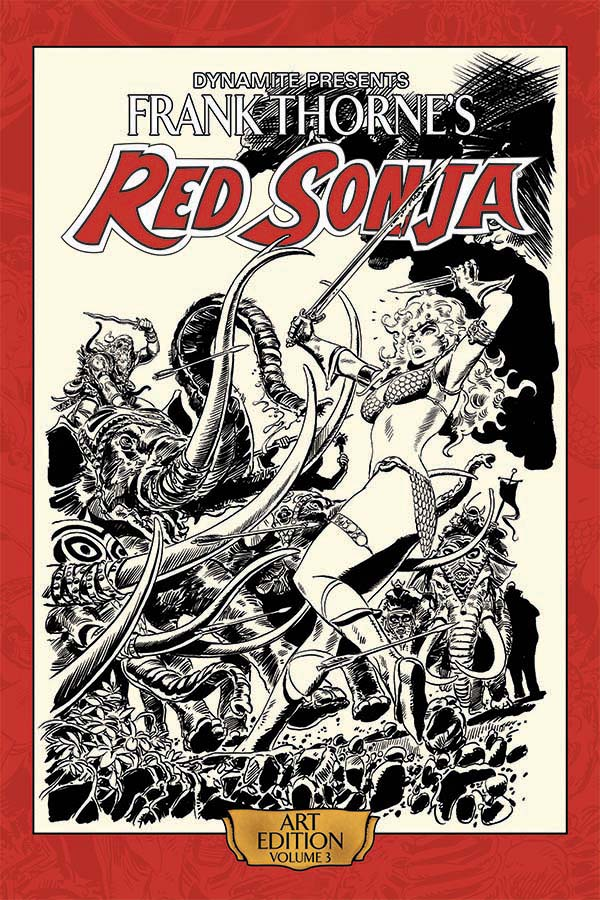 frank thornes red sonja collections 3 book series