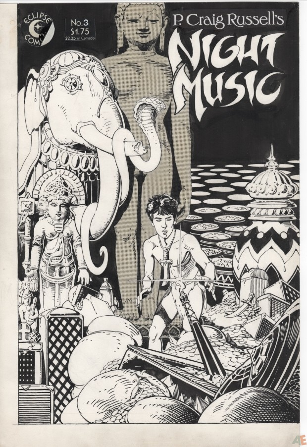 P. Craig Russell's Jungle Book and Other Stories Fine Art Edition 3
