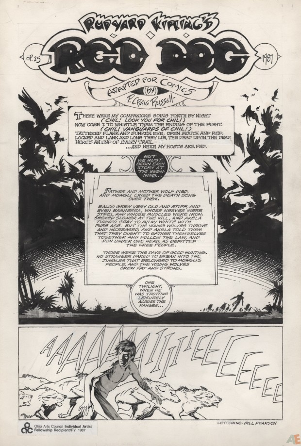 P. Craig Russell's Jungle Book and Other Stories Fine Art Edition 21