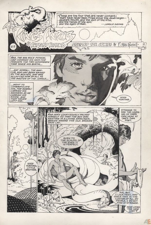 P. Craig Russell's Jungle Book and Other Stories Fine Art Edition 5