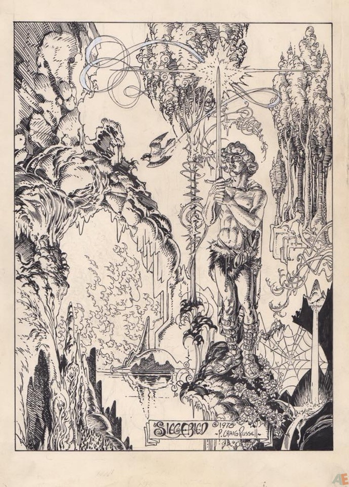 P. Craig Russell's Jungle Book and Other Stories Fine Art Edition 41