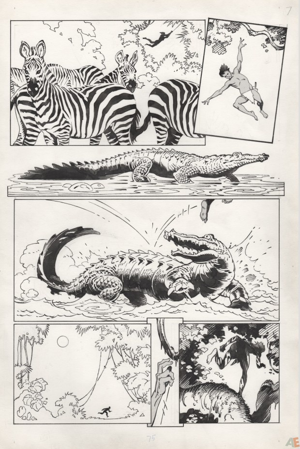 P. Craig Russell's Jungle Book and Other Stories Fine Art Edition 9