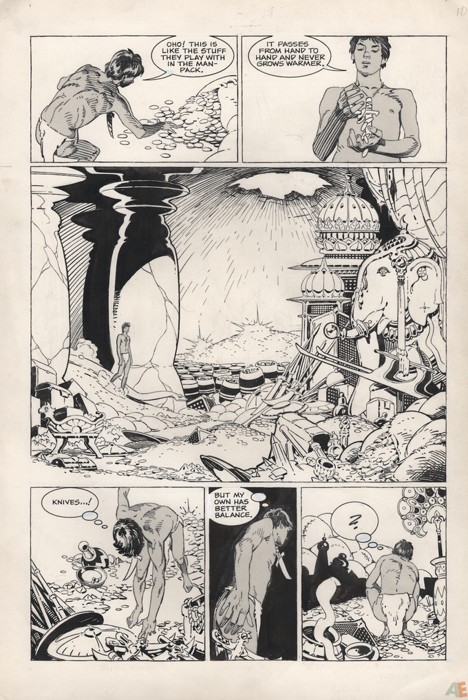 P. Craig Russell's Jungle Book and Other Stories Fine Art Edition 11