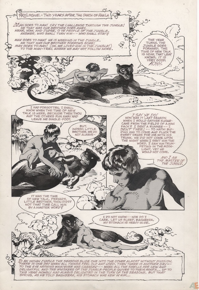 P. Craig Russell's Jungle Book and Other Stories Fine Art Edition 15