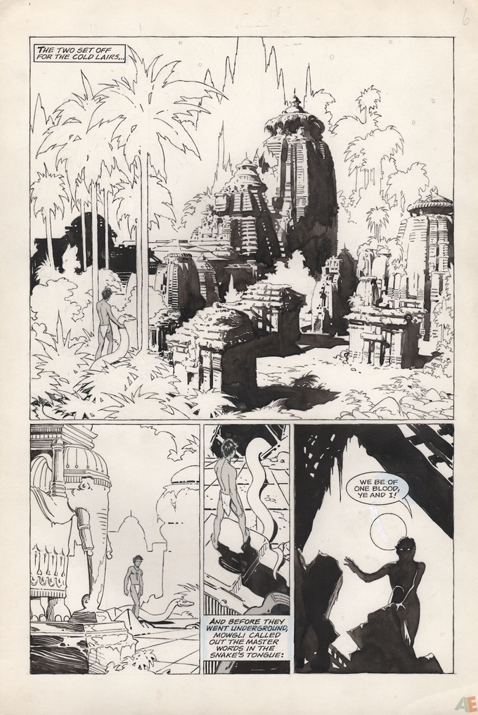 P. Craig Russell's Jungle Book and Other Stories Fine Art Edition 17