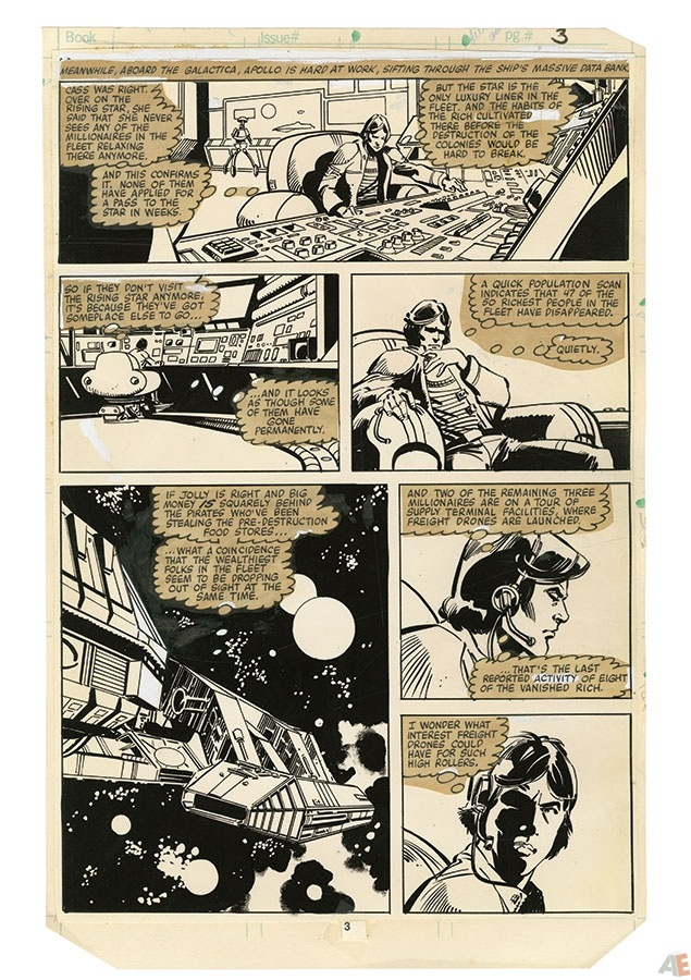 Dynamite's Battlestar Galactica Art Edition