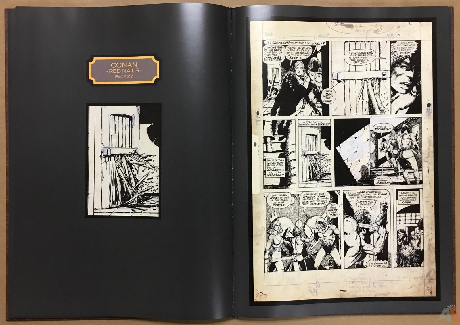 Conan: Red Nails Original Art Archives Volume 1 22