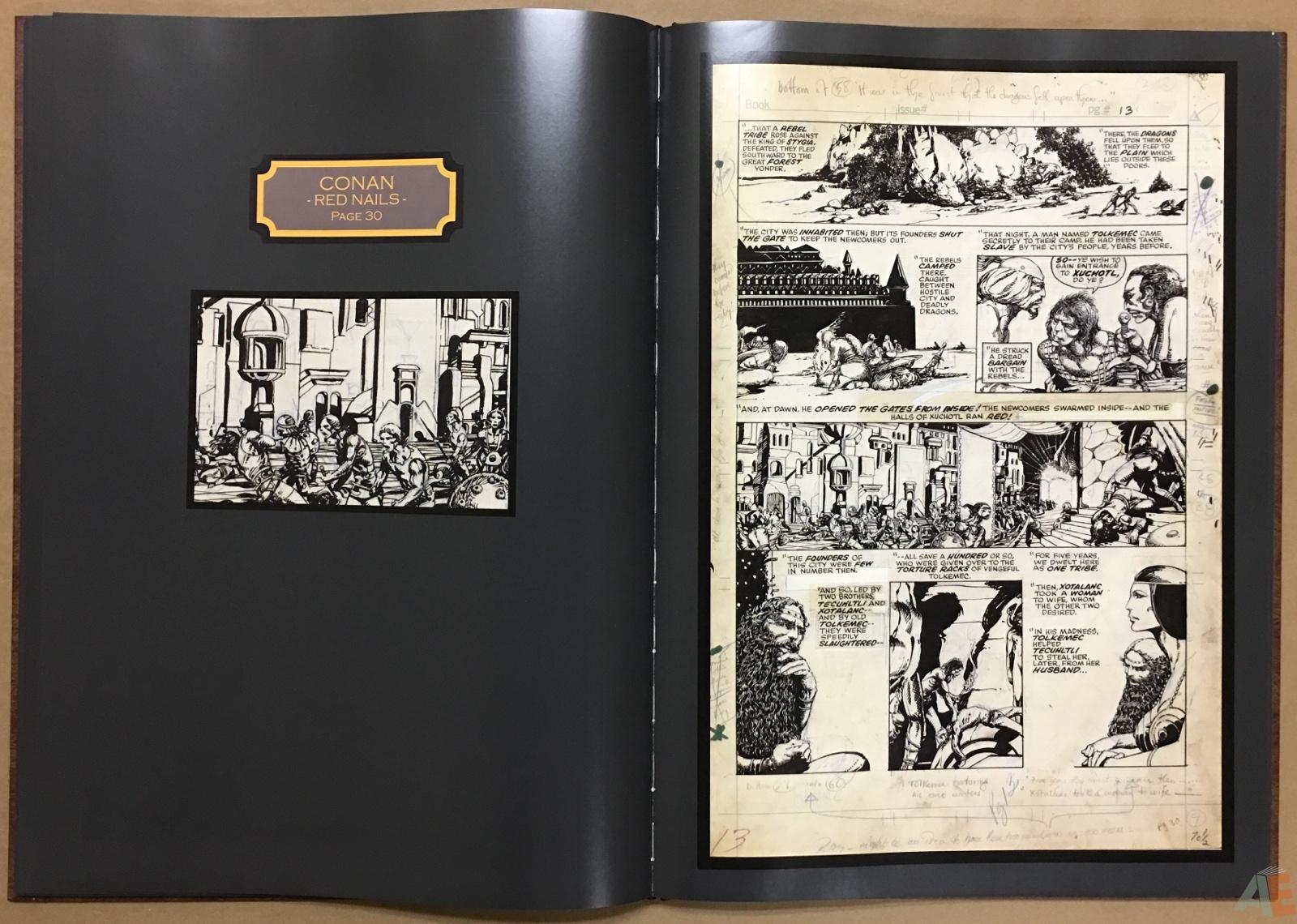 Conan: Red Nails Original Art Archives Volume 1 24