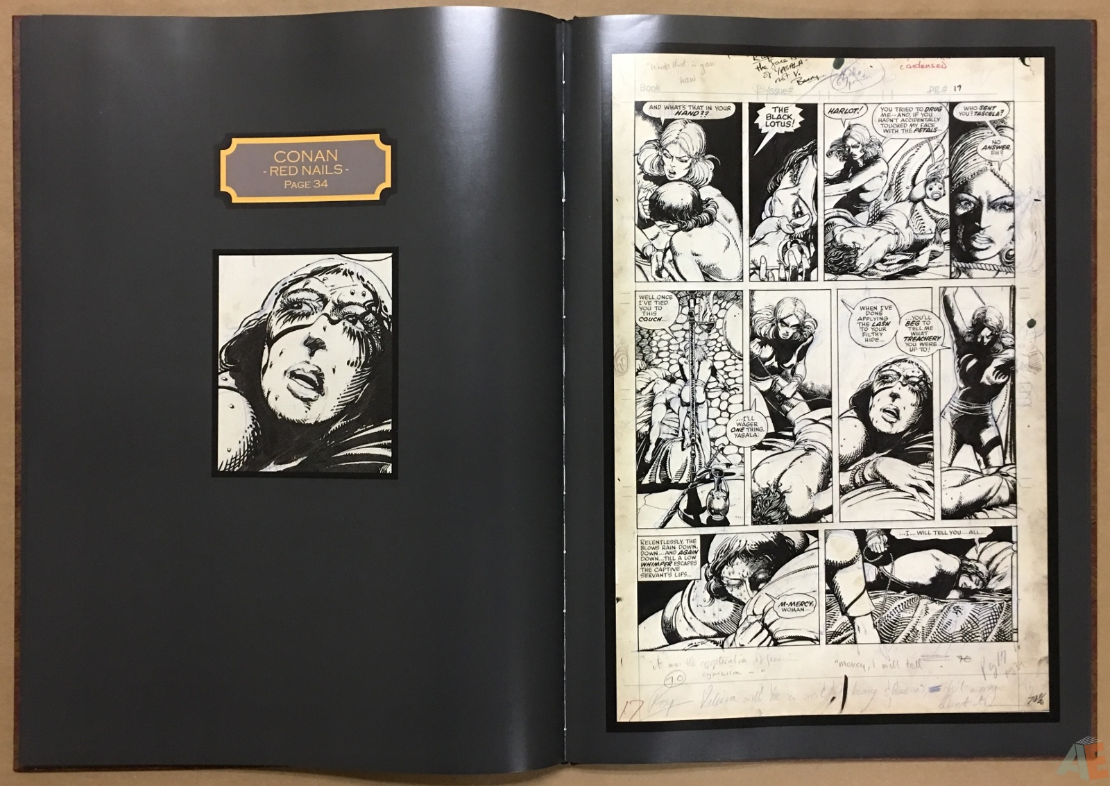 Conan: Red Nails Original Art Archives Volume 1 26