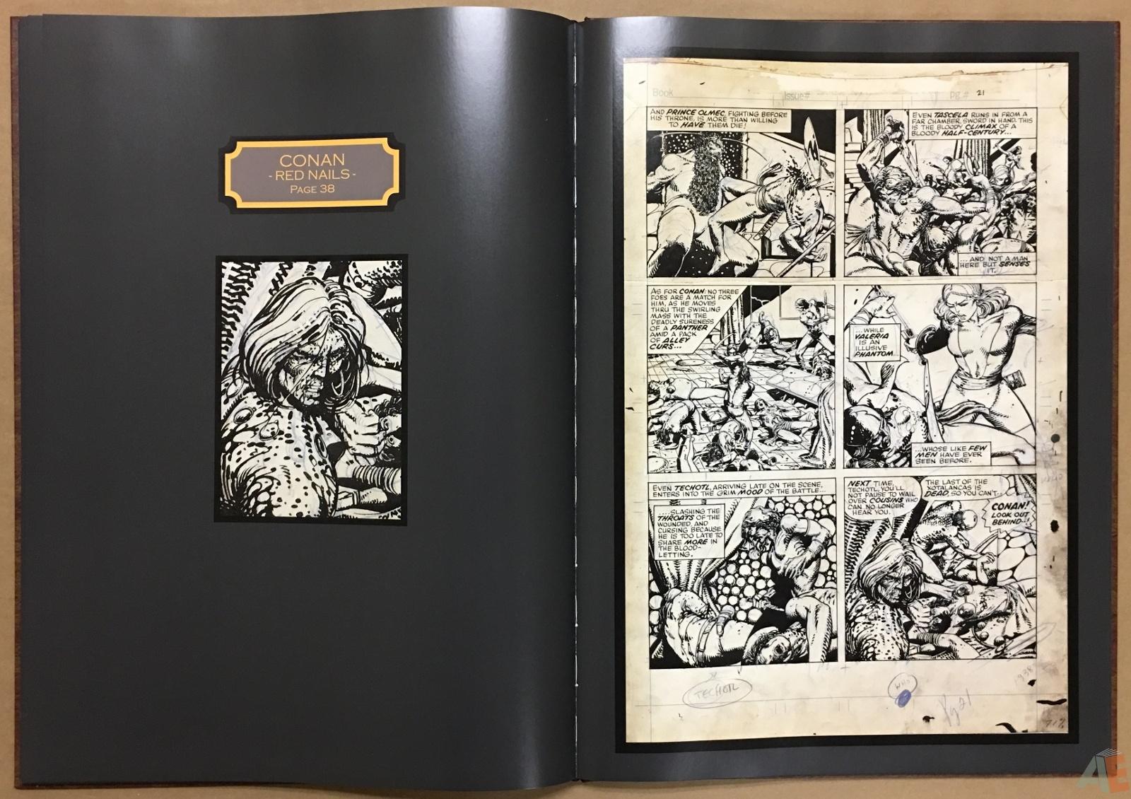 Conan: Red Nails Original Art Archives Volume 1 28