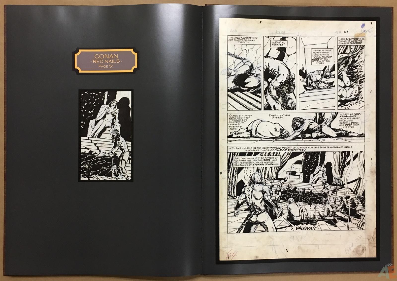 Conan: Red Nails Original Art Archives Volume 1 32
