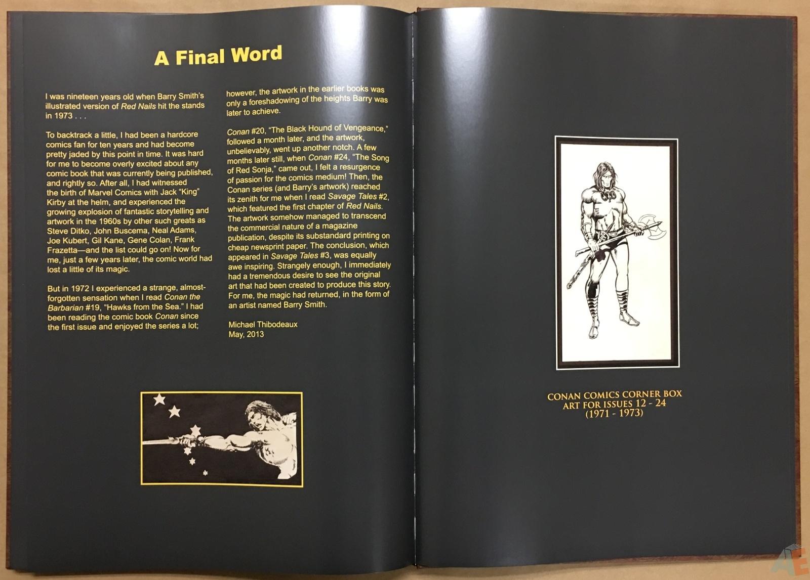 Conan: Red Nails Original Art Archives Volume 1 38