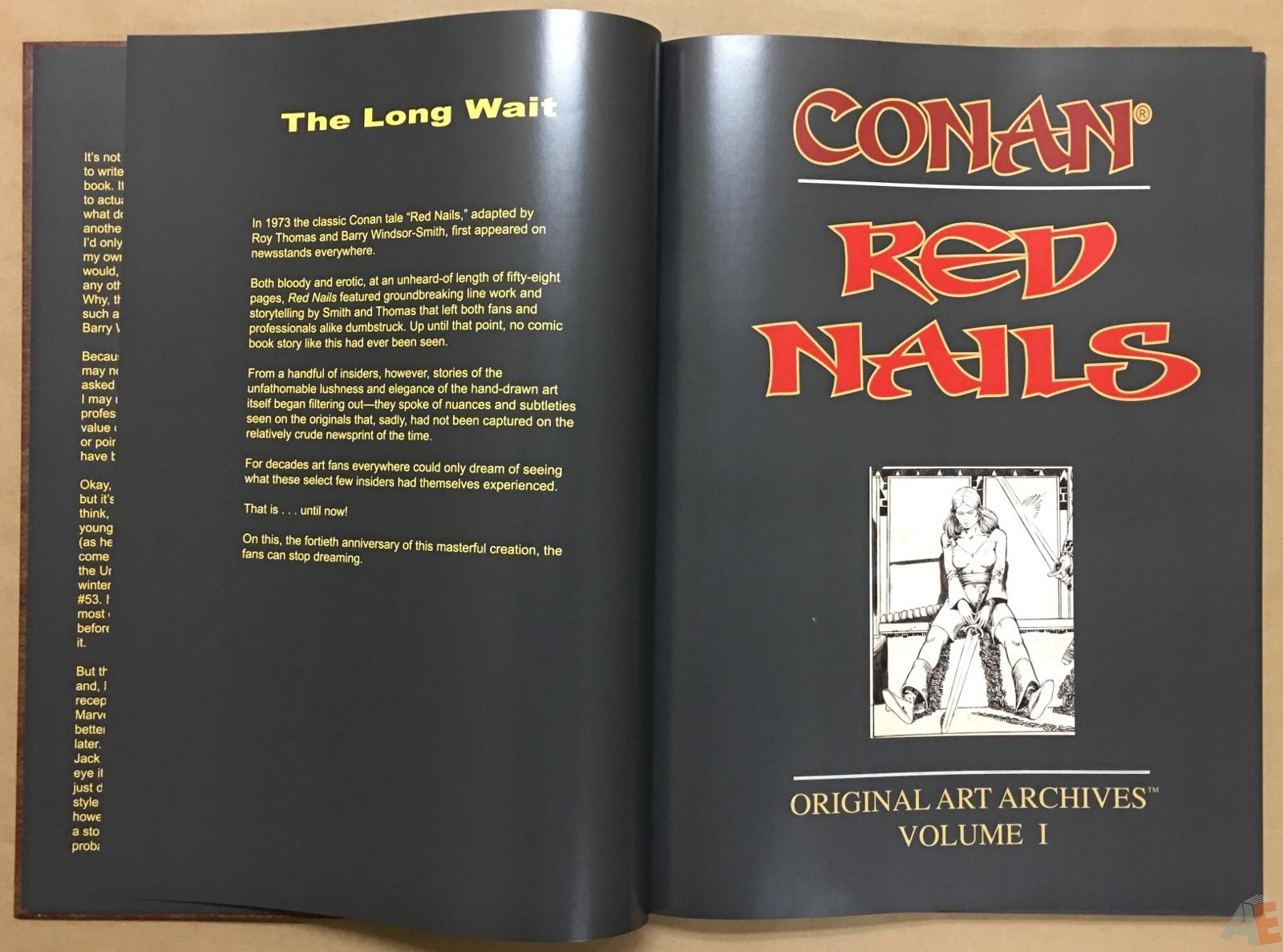 Conan: Red Nails Original Art Archives Volume 1 8