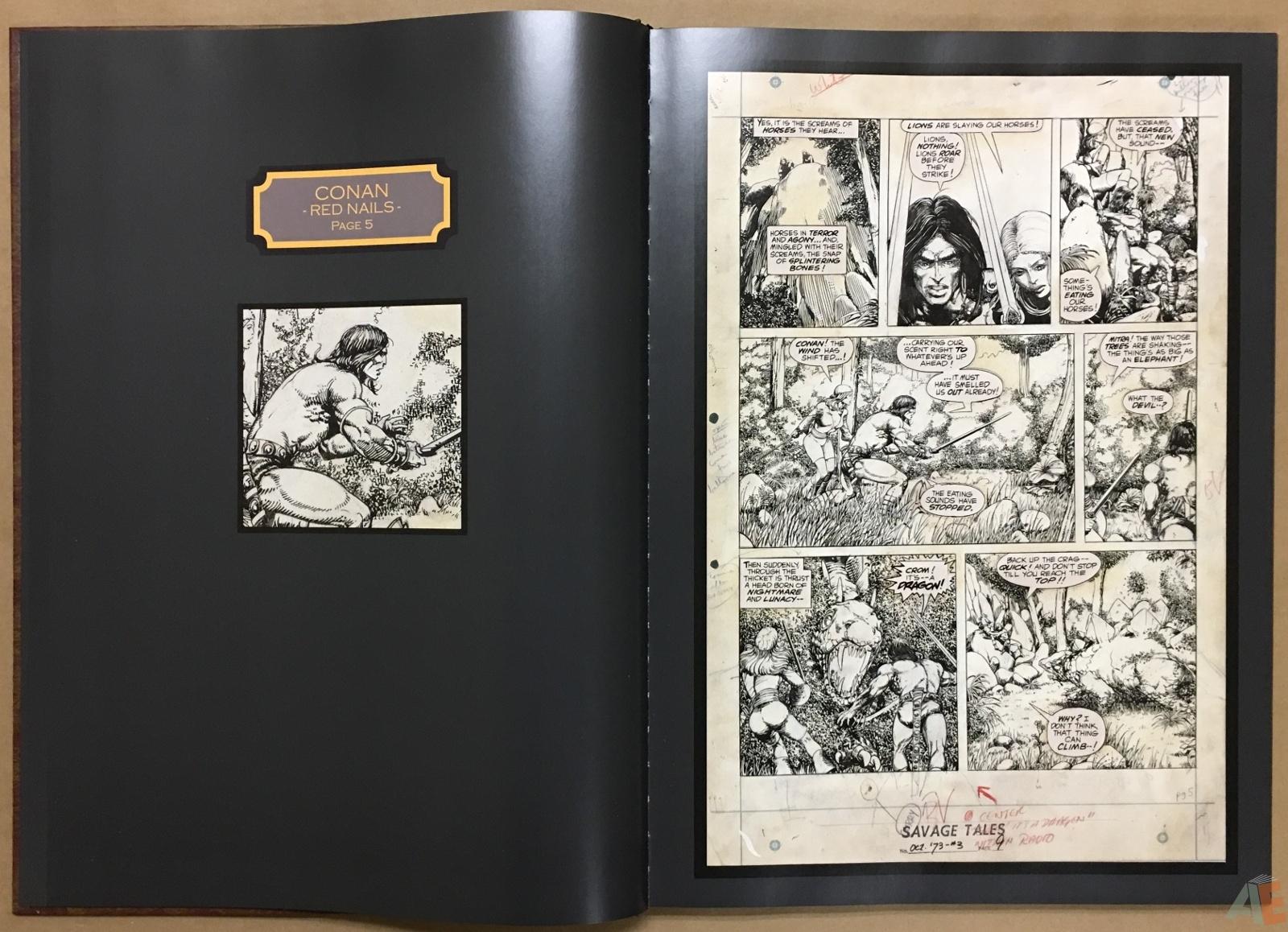 Conan: Red Nails Original Art Archives Volume 1 12