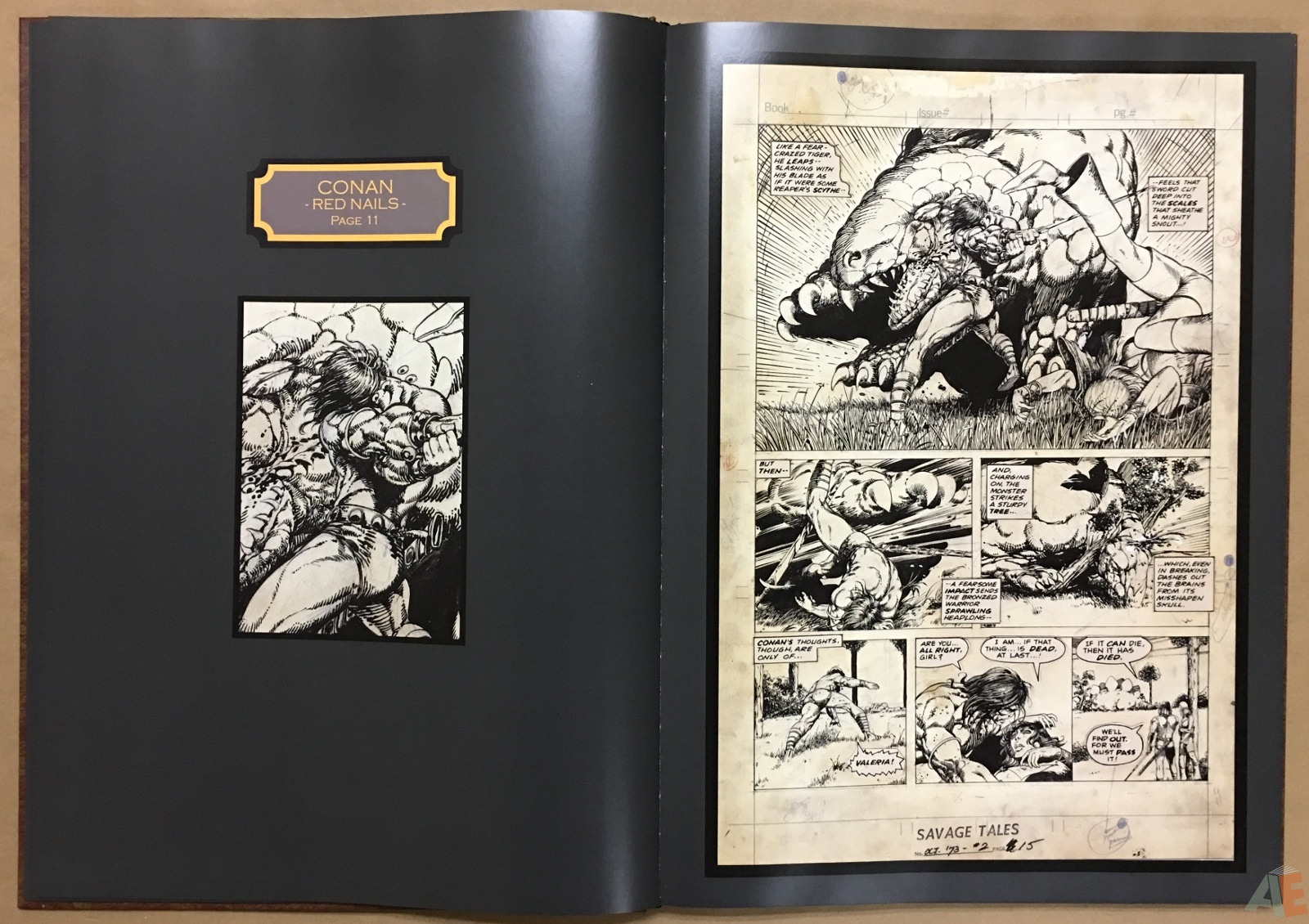 Conan: Red Nails Original Art Archives Volume 1 14