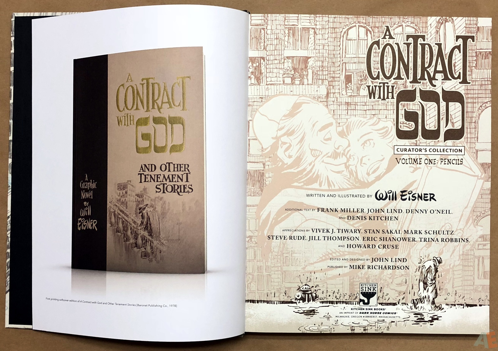 Will Eisner's A Contract with God Curator's Collection 4