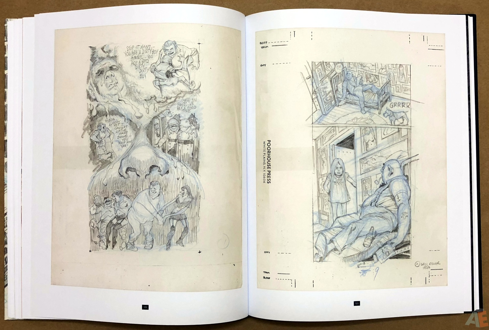 Will Eisner's A Contract with God Curator's Collection 32