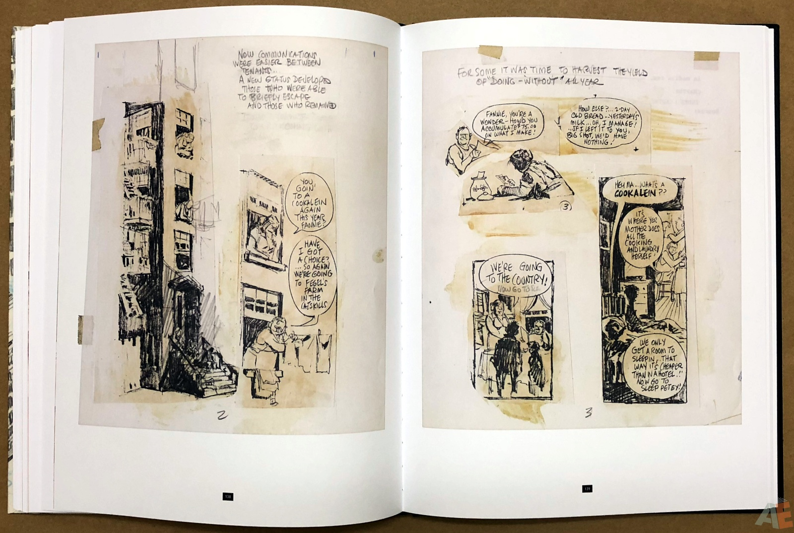 Will Eisner's A Contract with God Curator's Collection 36