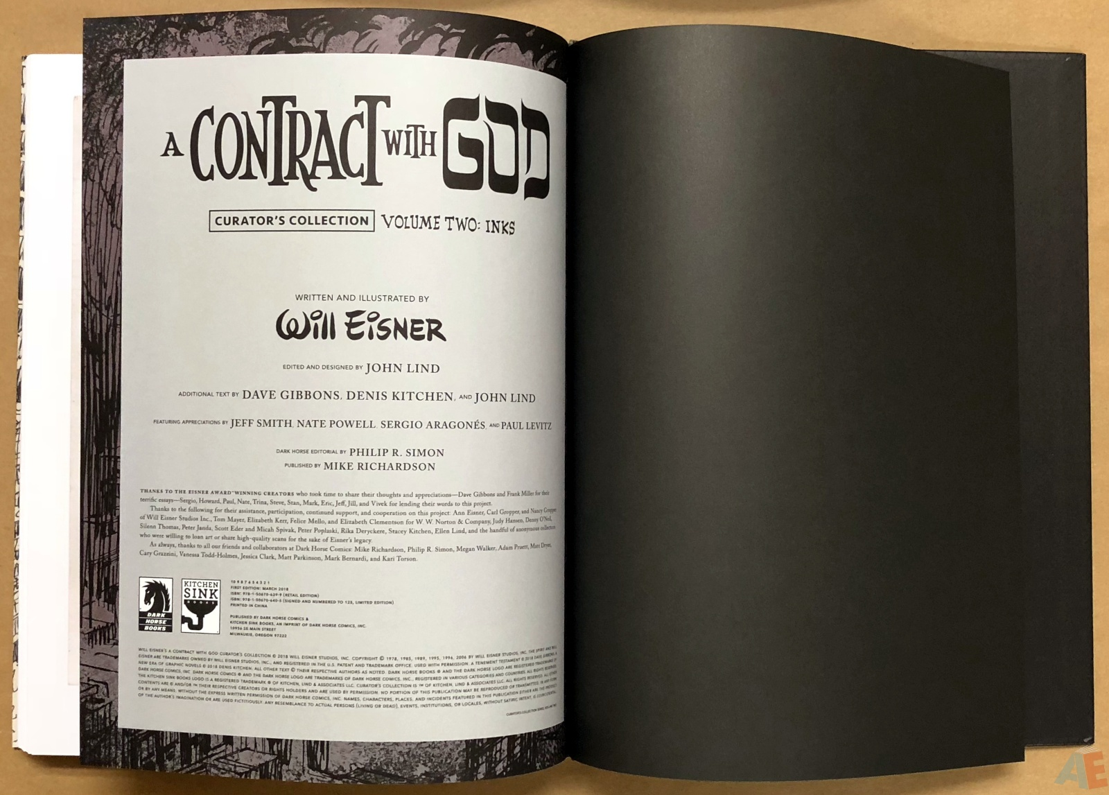 Will Eisner's A Contract with God Curator's Collection 54