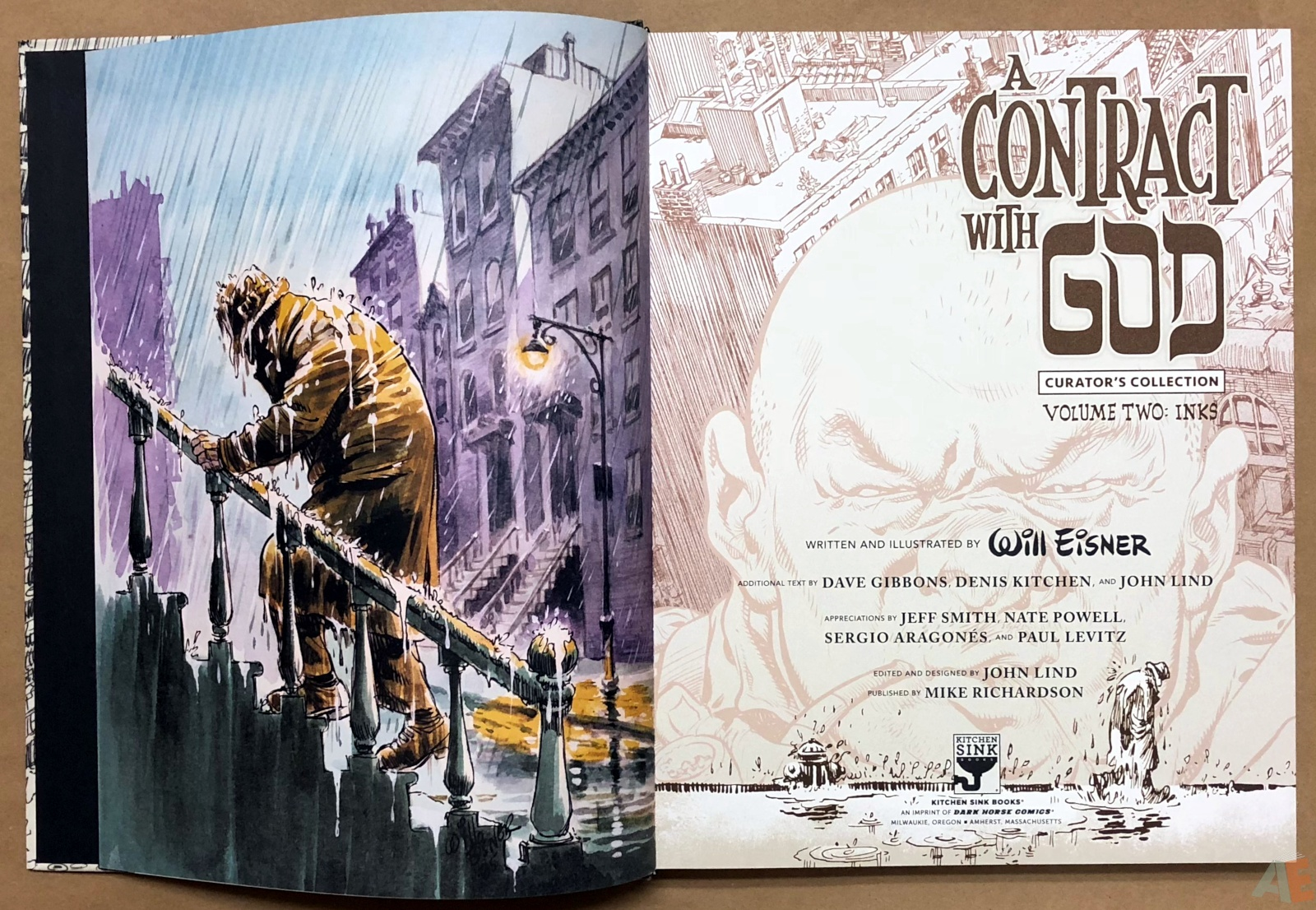 Will Eisner's A Contract with God Curator's Collection 8