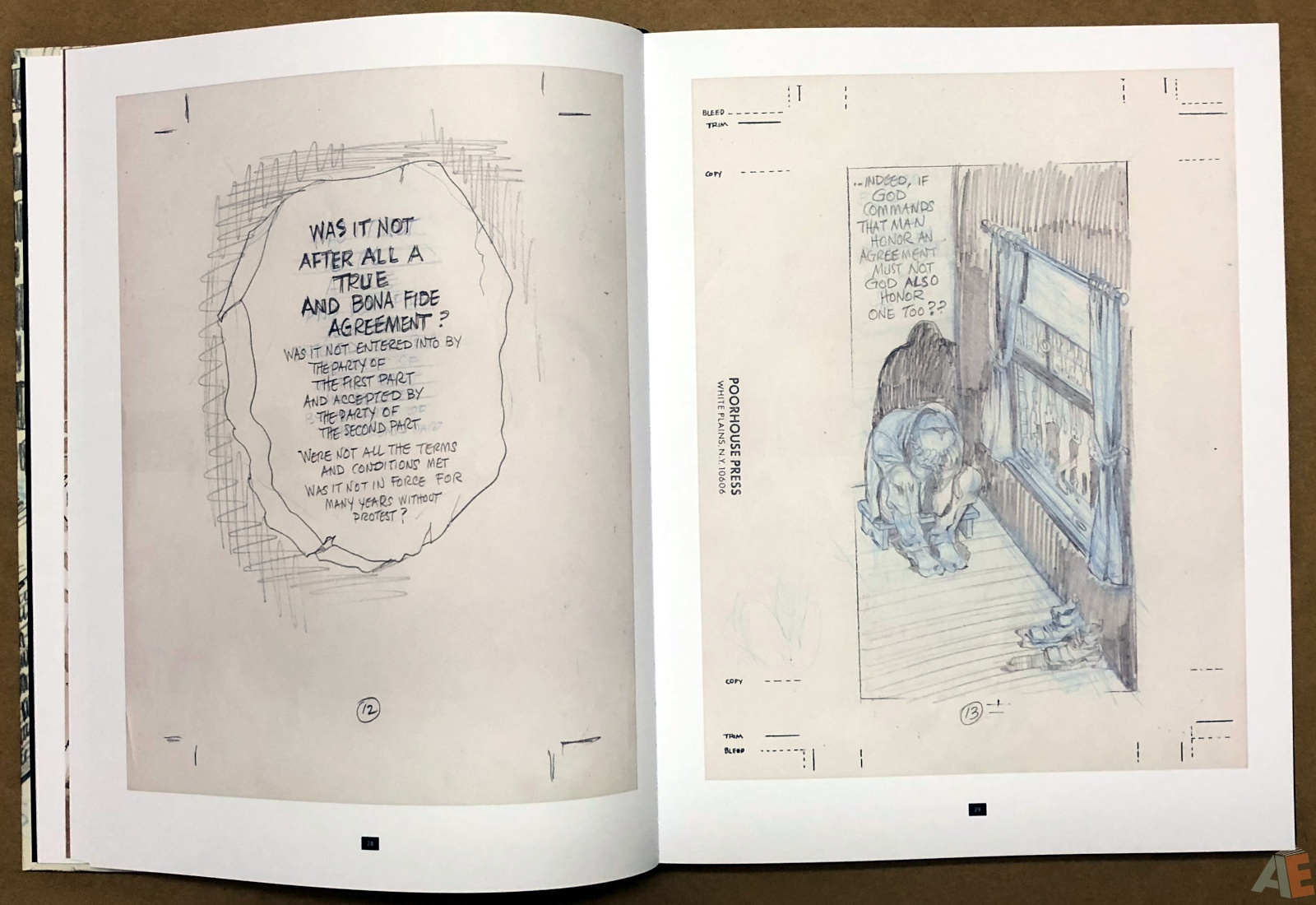 Will Eisner's A Contract with God Curator's Collection 12