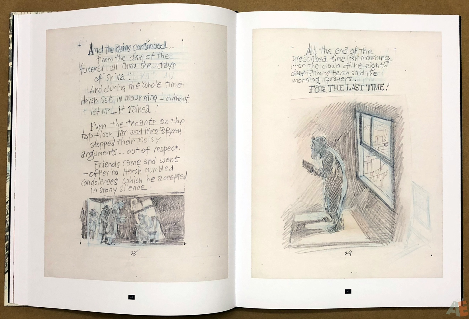 Will Eisner's A Contract with God Curator's Collection 16