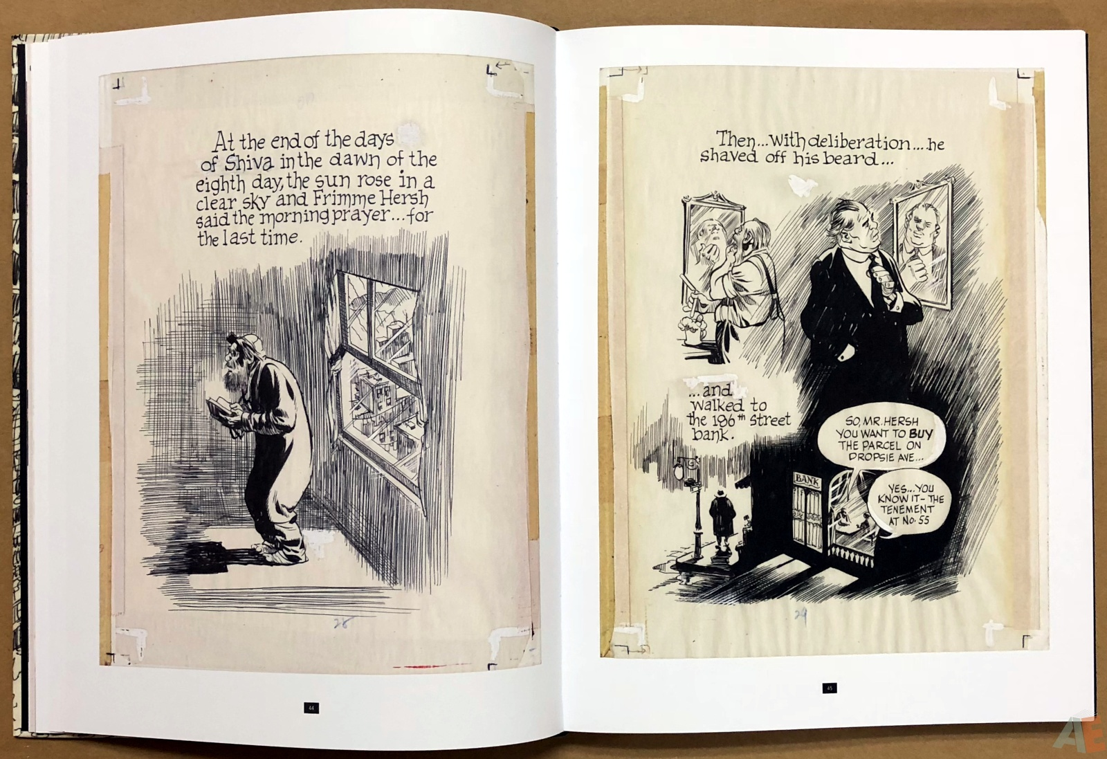 Will Eisner's A Contract with God Curator's Collection 18