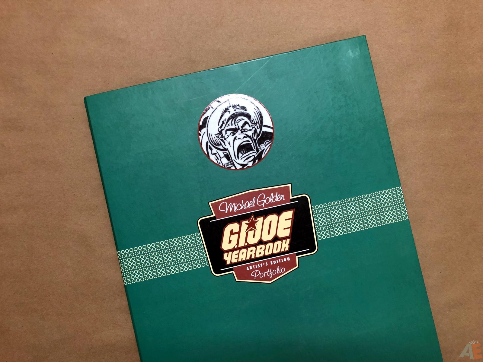 Michael Golden's G.I. Joe Yearbook: Artist's Edition Portfolio
