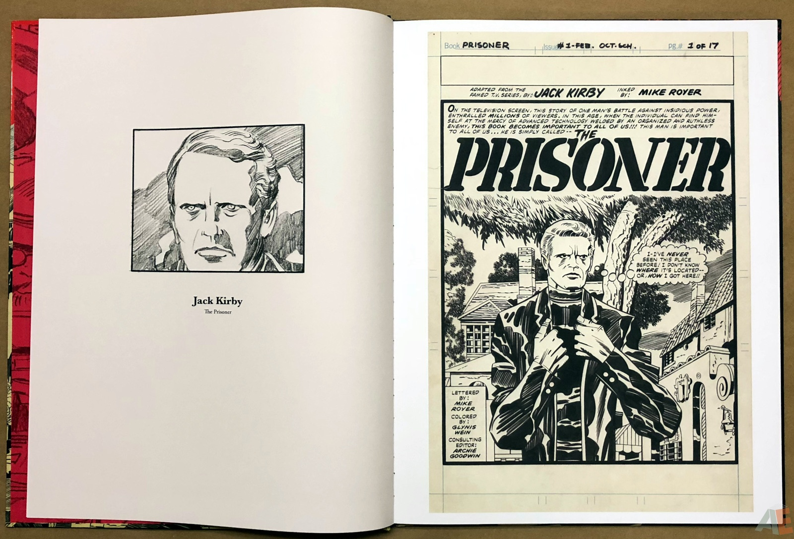 The Prisoner - Original Art Edition 8