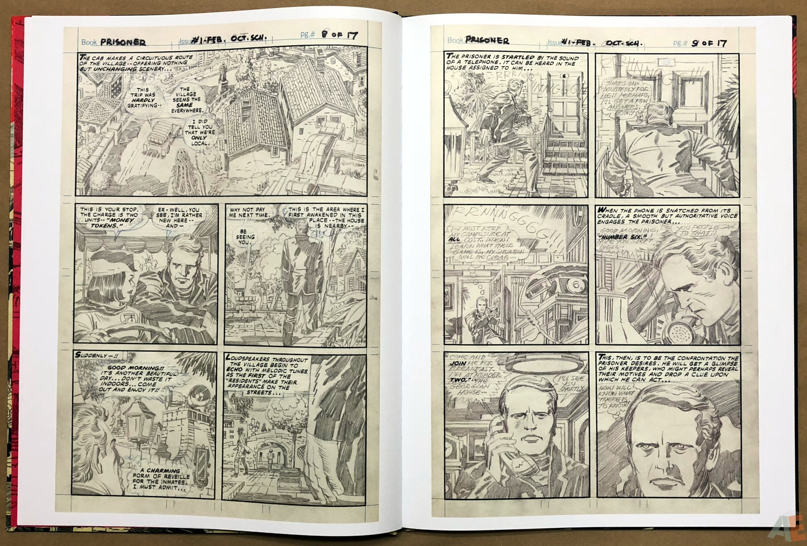 The Prisoner - Original Art Edition 12