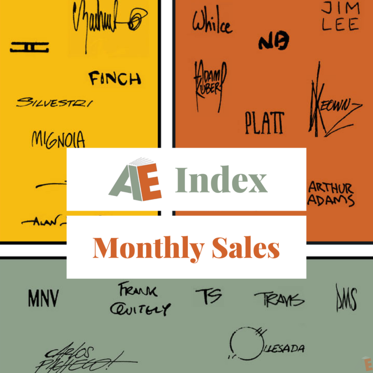 AE featured monthly sales
