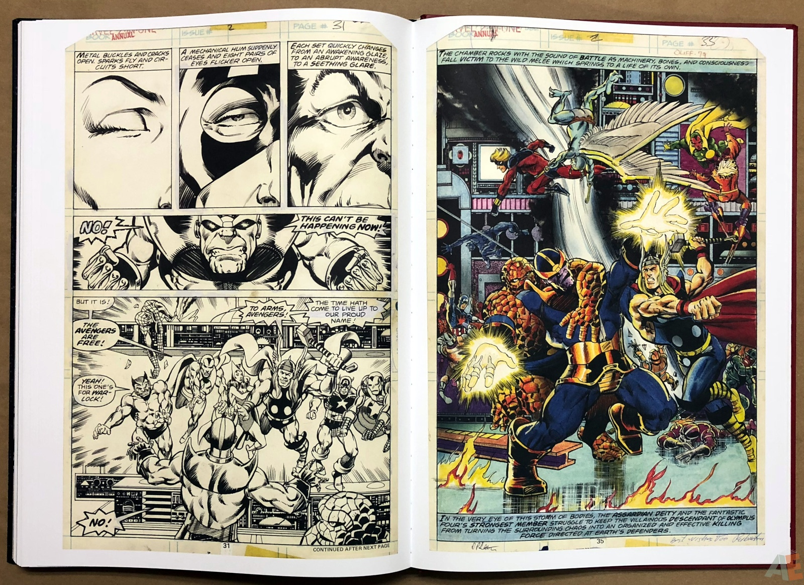 Jim Starlin's Marvel Cosmic Artifact Edition 42