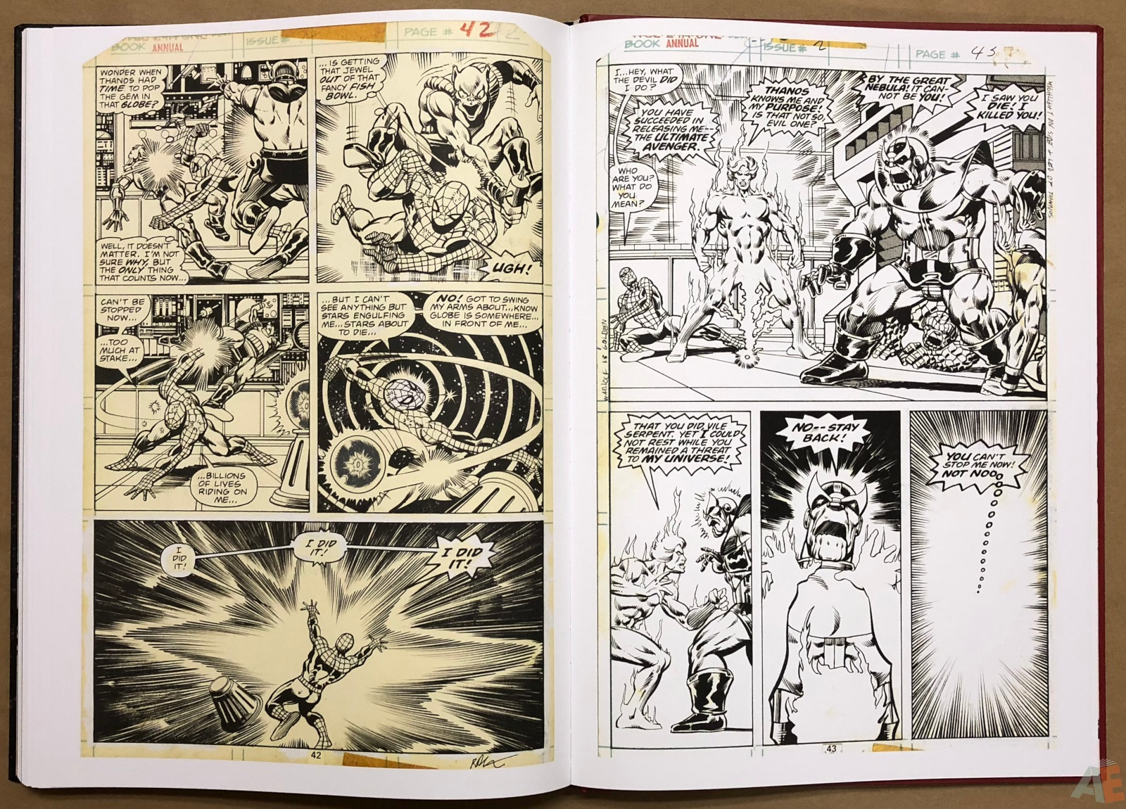 Jim Starlin's Marvel Cosmic Artifact Edition 44