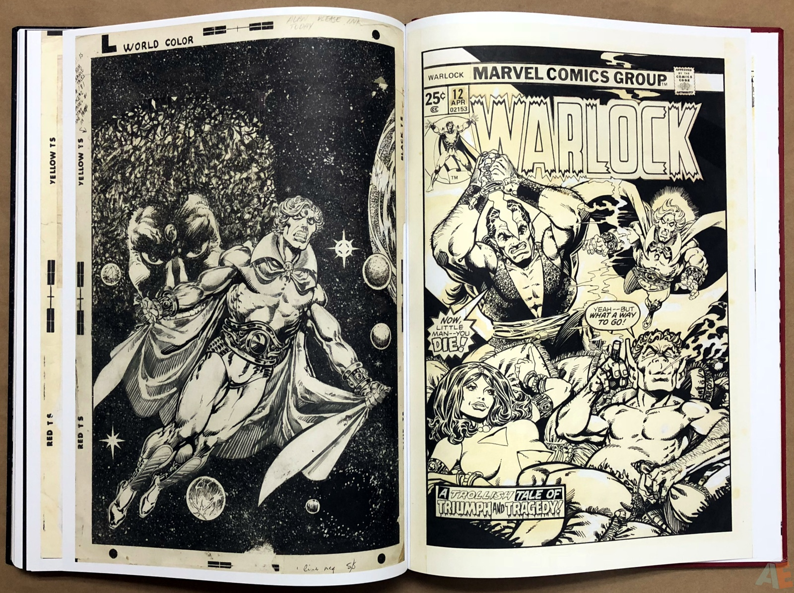 Jim Starlin's Marvel Cosmic Artifact Edition 50