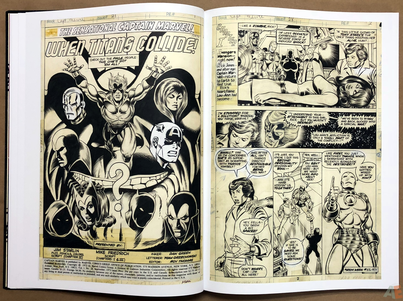 Jim Starlin's Marvel Cosmic Artifact Edition 14