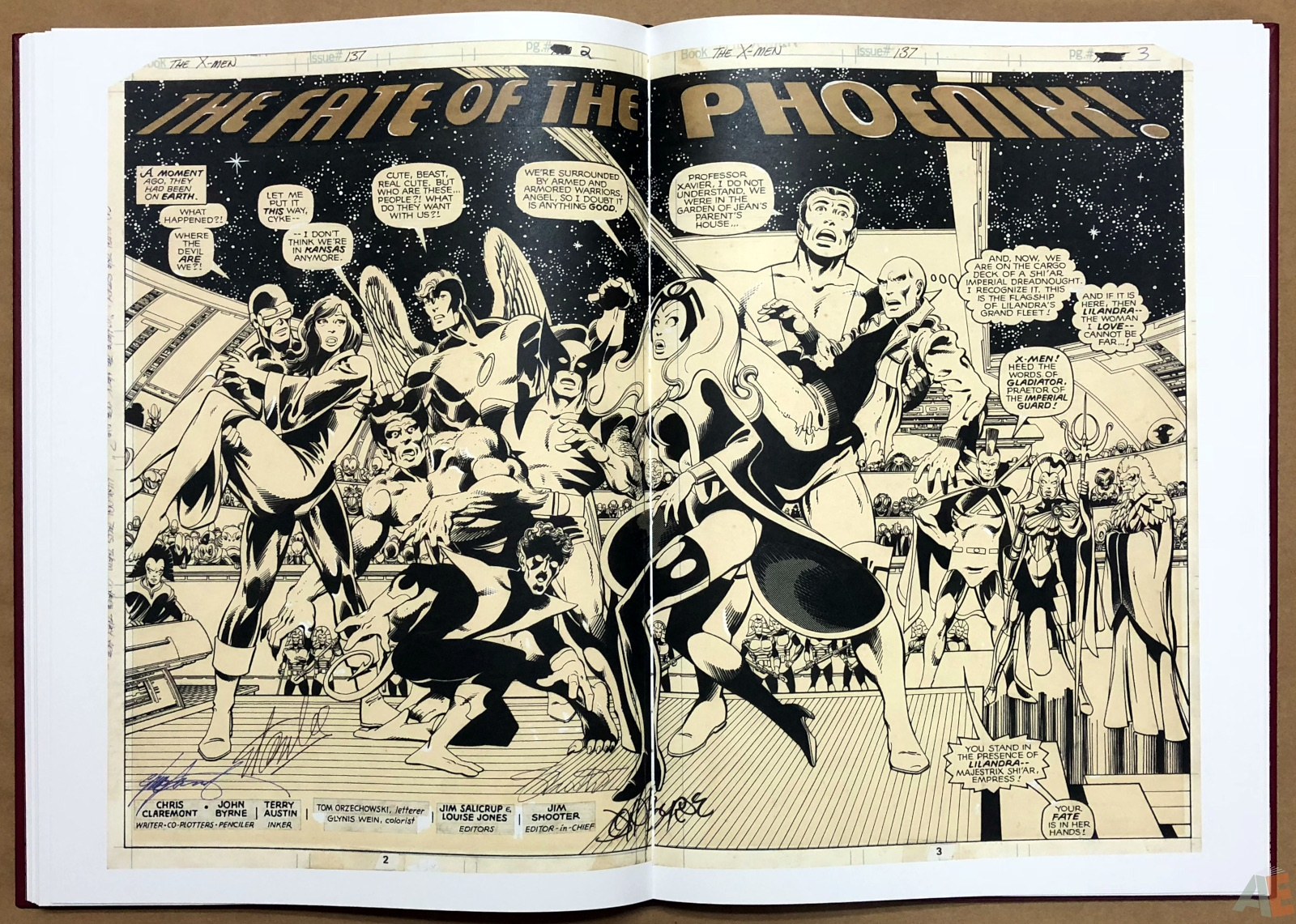 John Byrne's X-Men Artifact Edition 30
