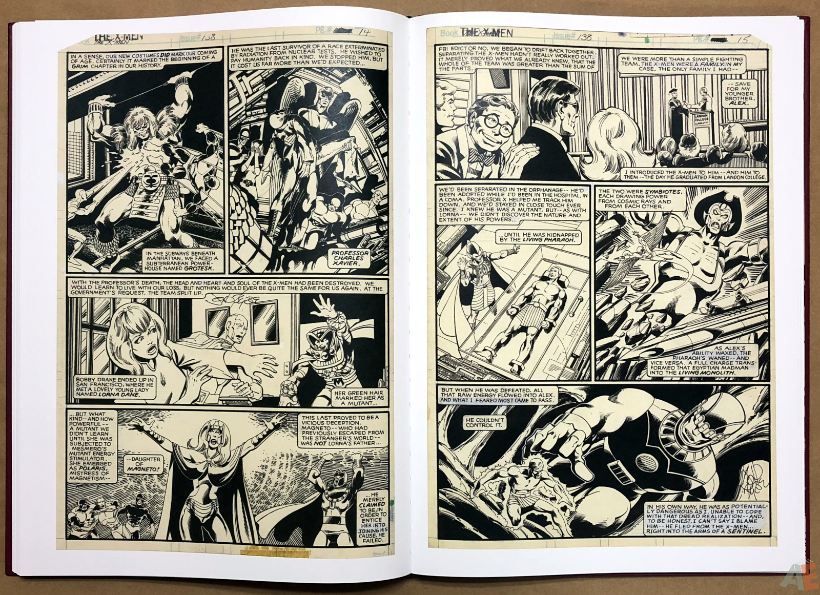 John Byrne's X-Men Artifact Edition 32