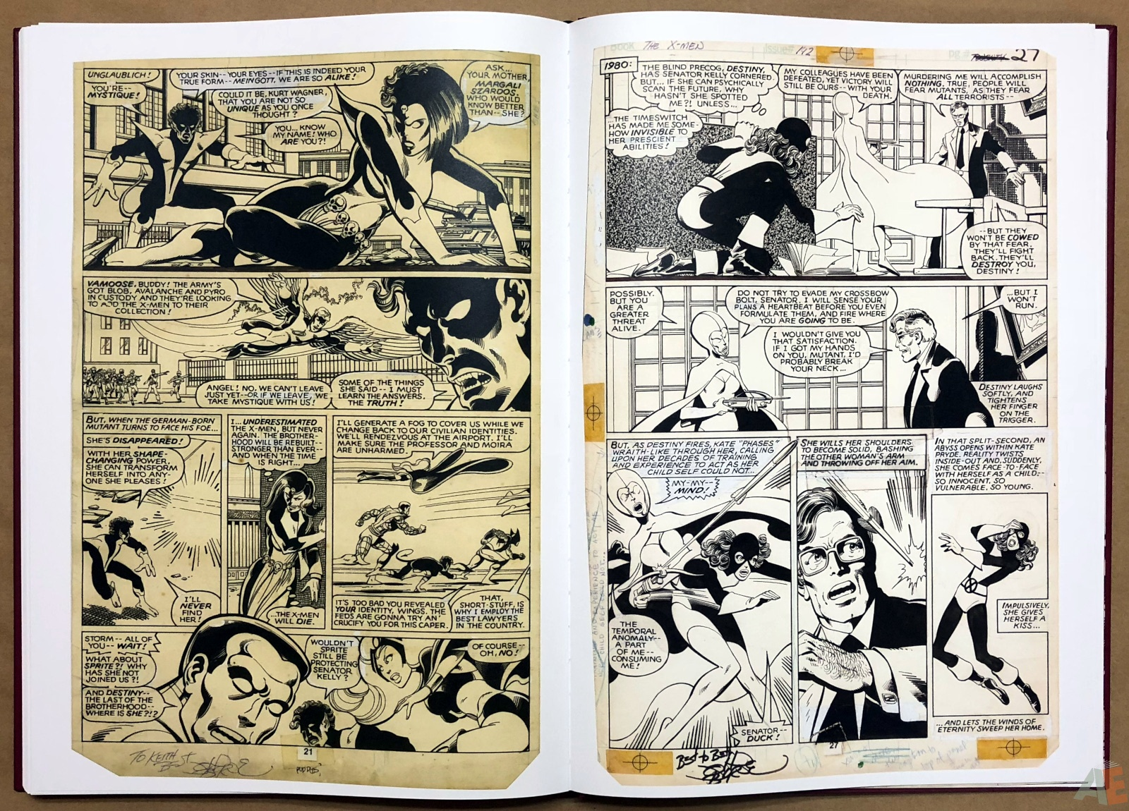 John Byrne's X-Men Artifact Edition 38