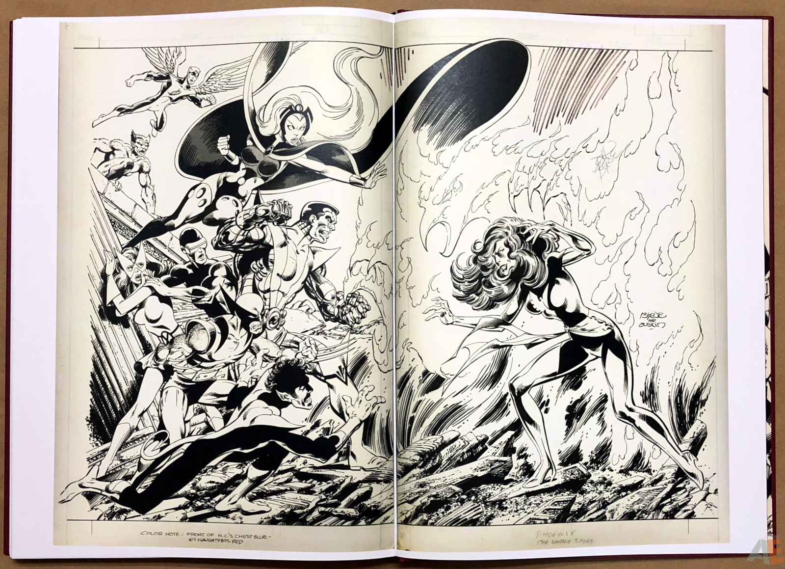 John Byrne's X-Men Artifact Edition 48