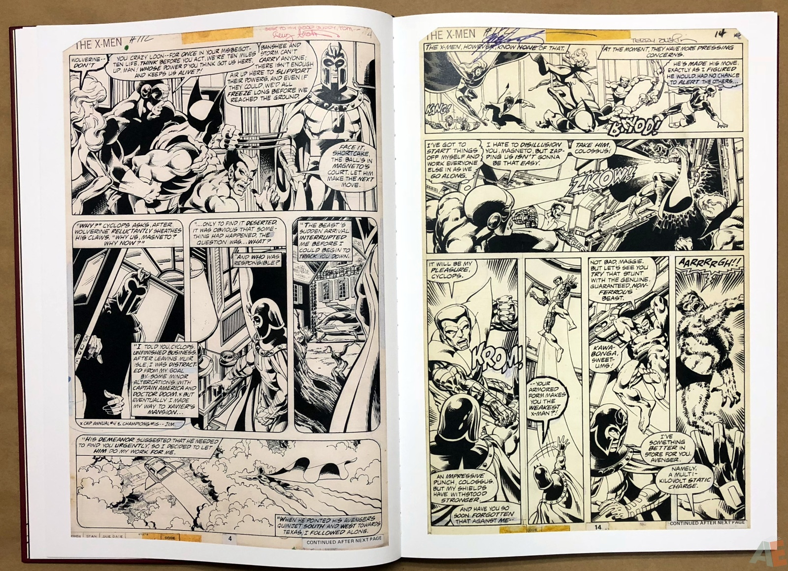 John Byrne's X-Men Artifact Edition 14
