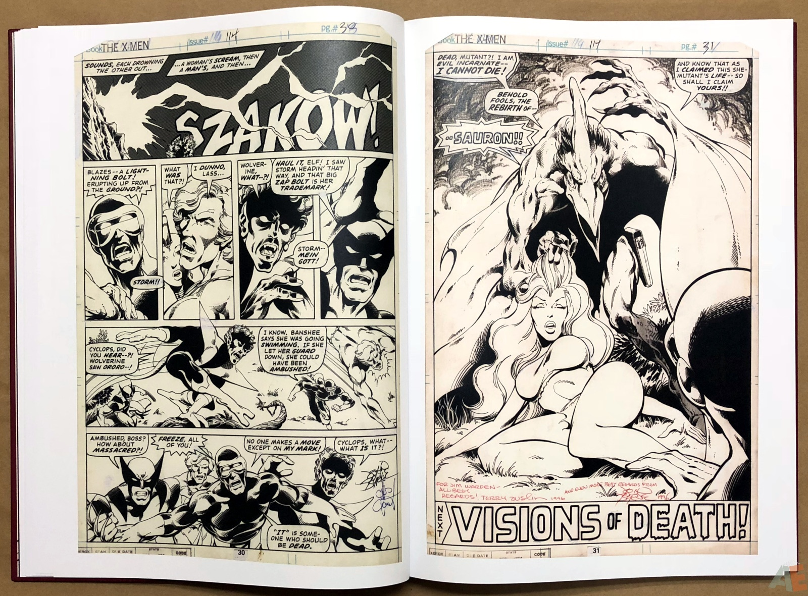 John Byrne's X-Men Artifact Edition 16