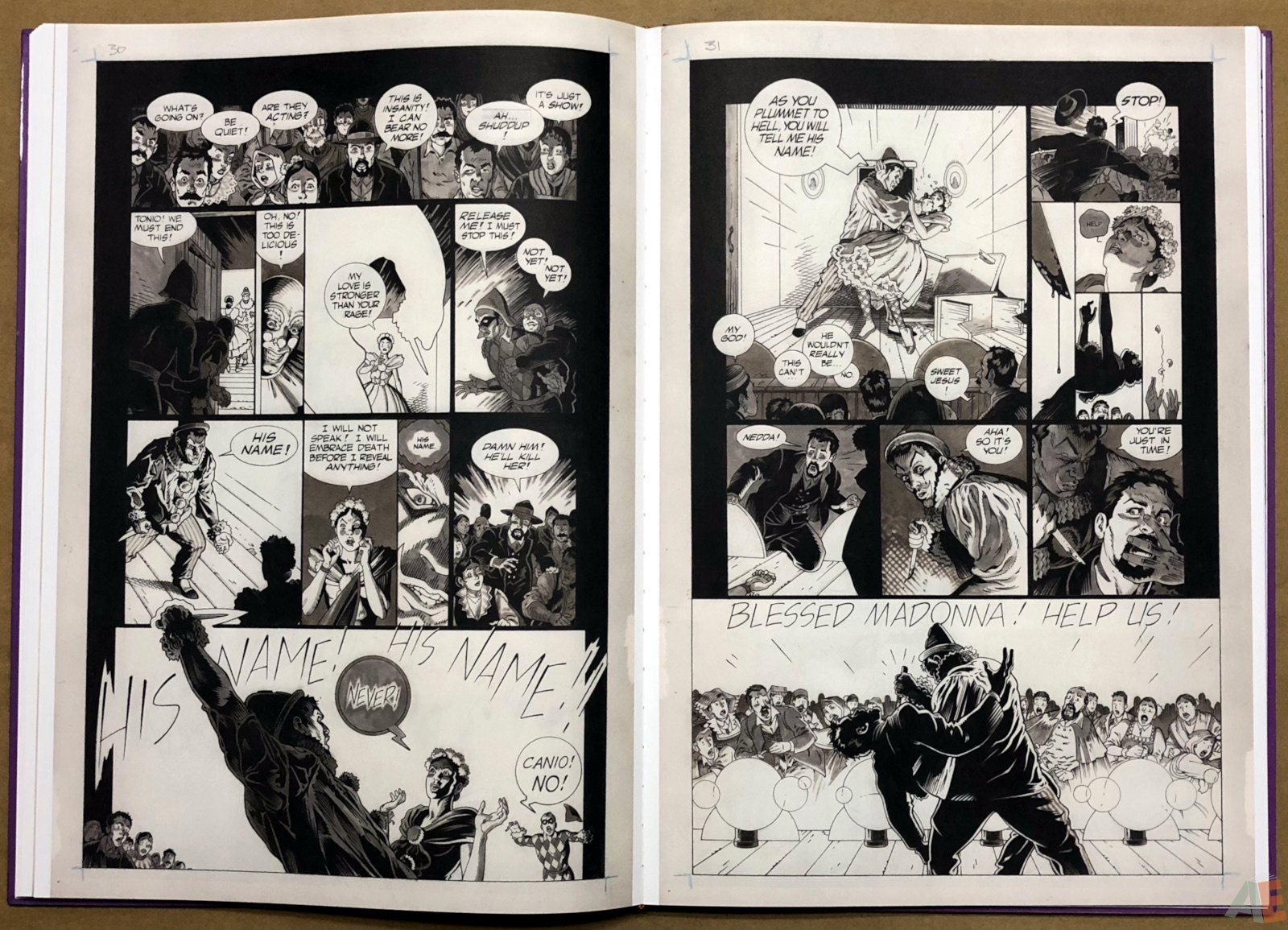 P. Craig Russell's Salome and Other Stories Fine Art Edition 24