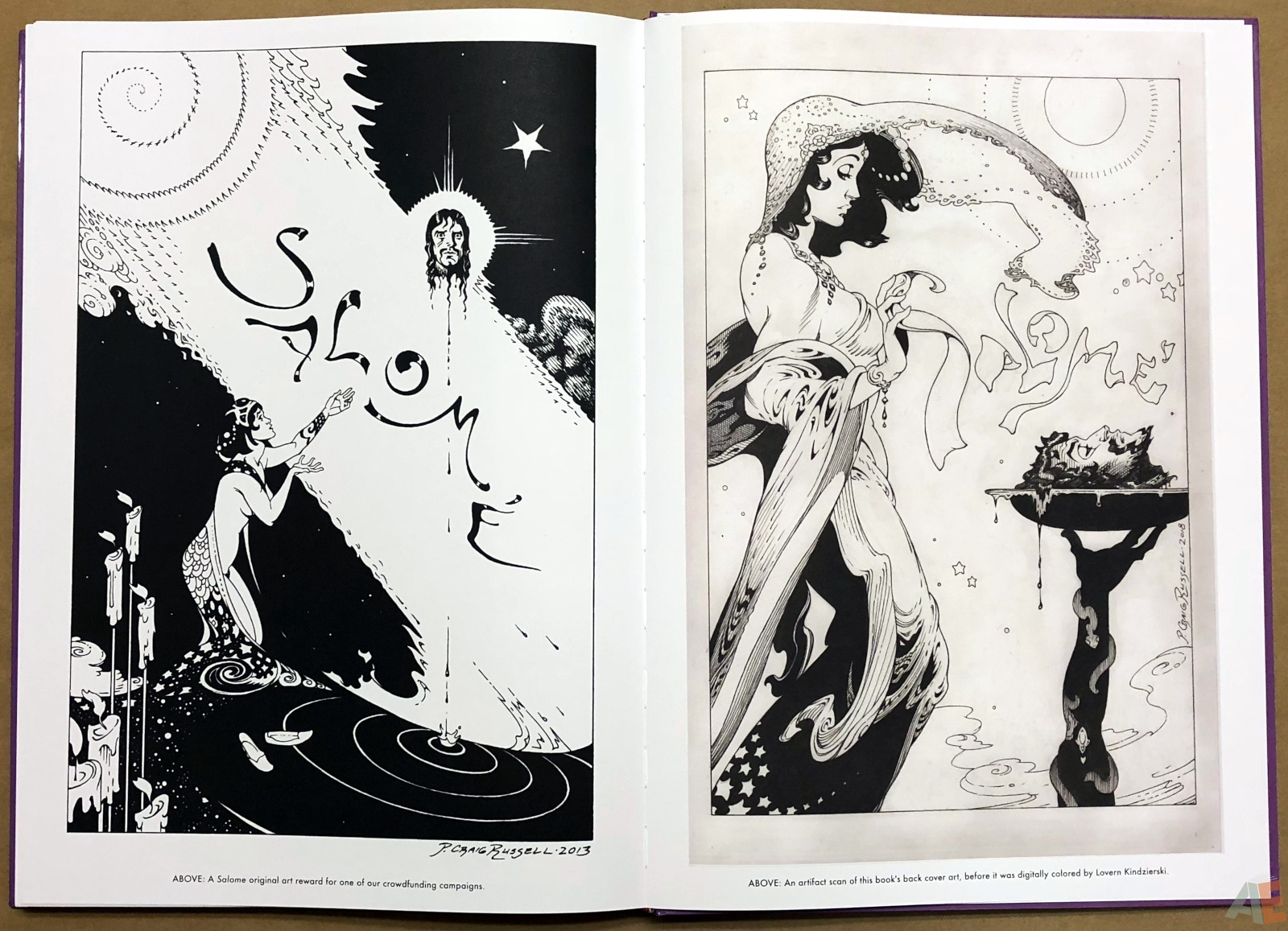 P. Craig Russell's Salome and Other Stories Fine Art Edition 40