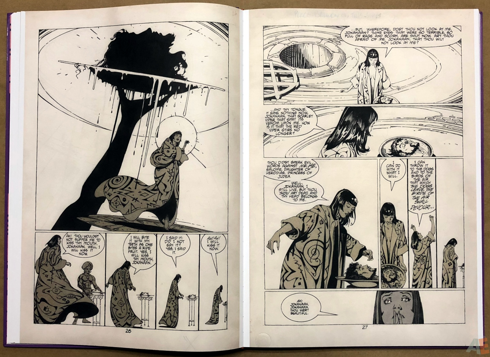 P. Craig Russell's Salome and Other Stories Fine Art Edition 12