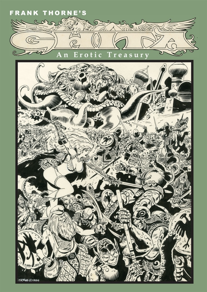 Out today: Frank Thorne's Ghita, An Erotic Treasury Archival Edition Vol 2 1