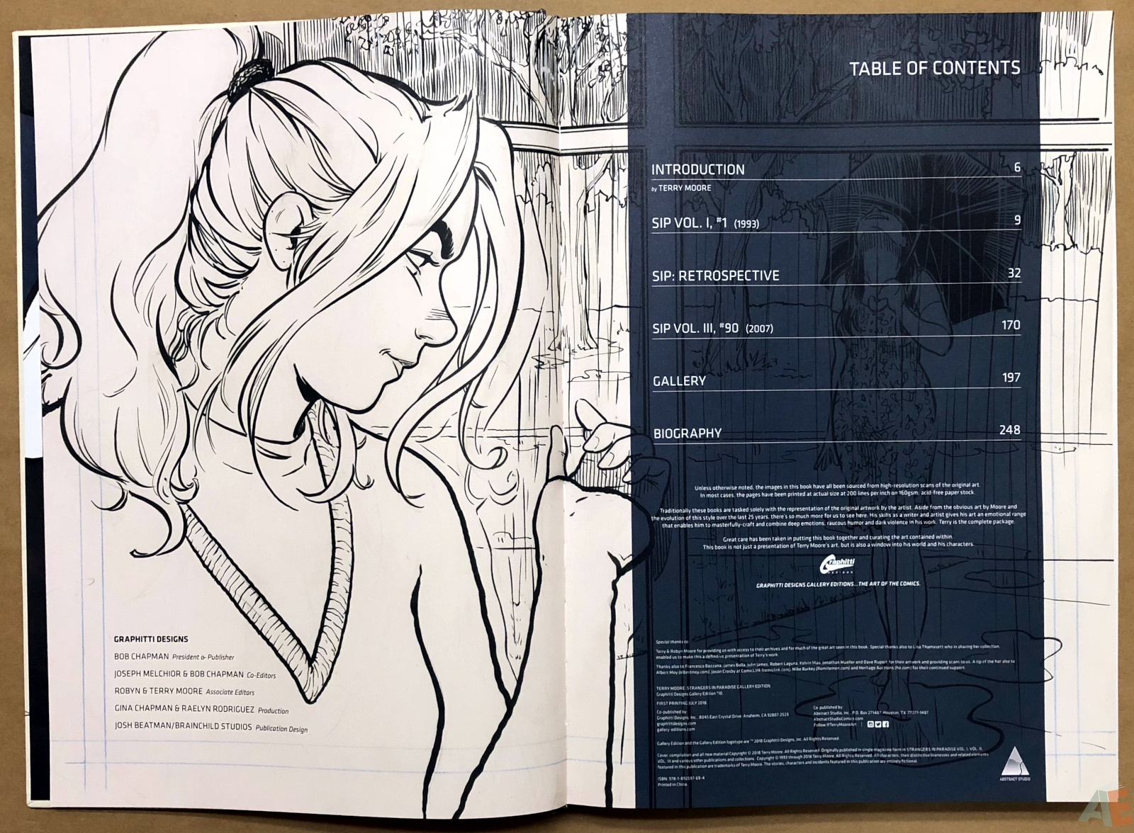 Terry Moore Strangers In Paradise Gallery Edition 4