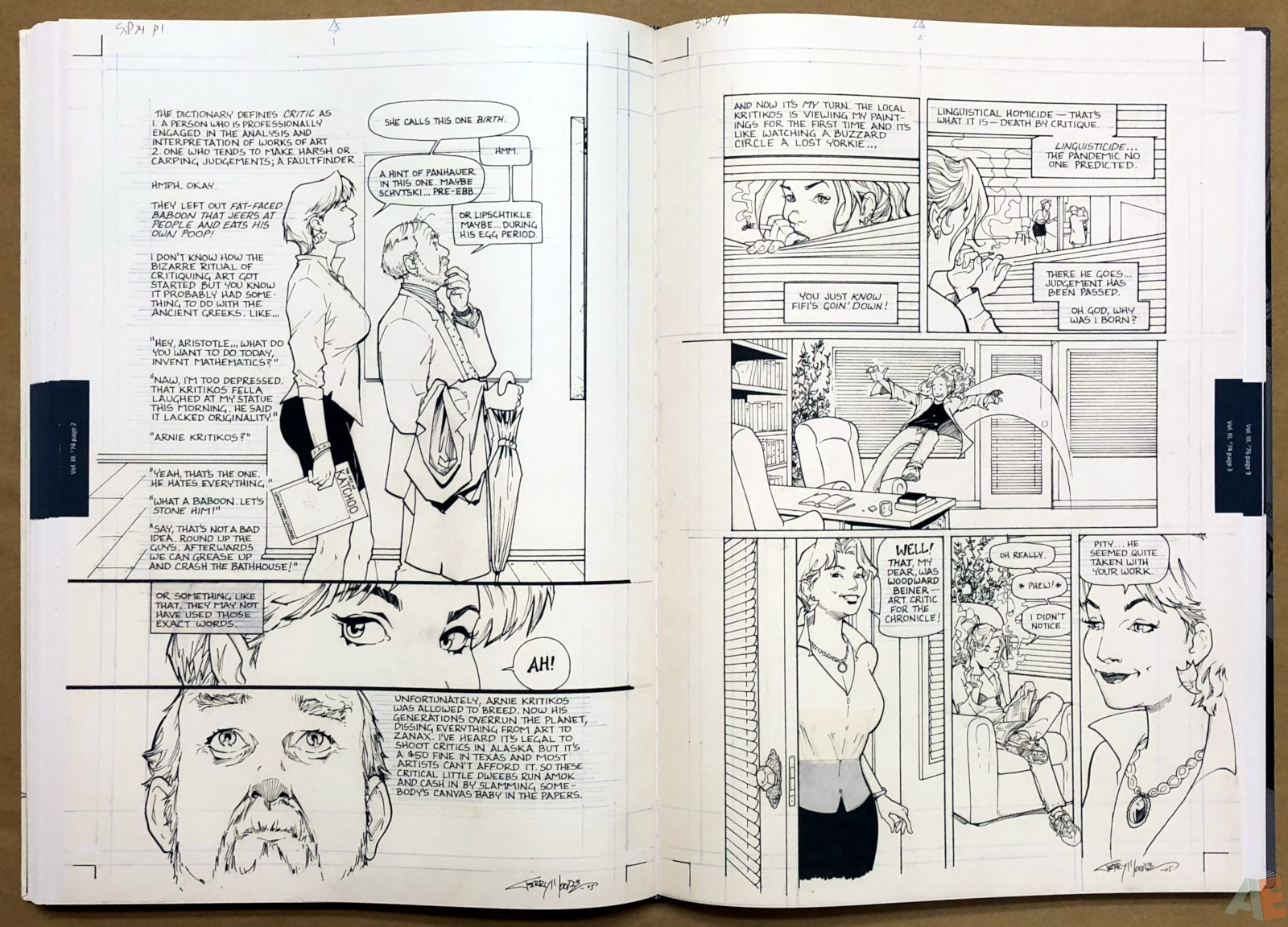 Terry Moore Strangers In Paradise Gallery Edition 28