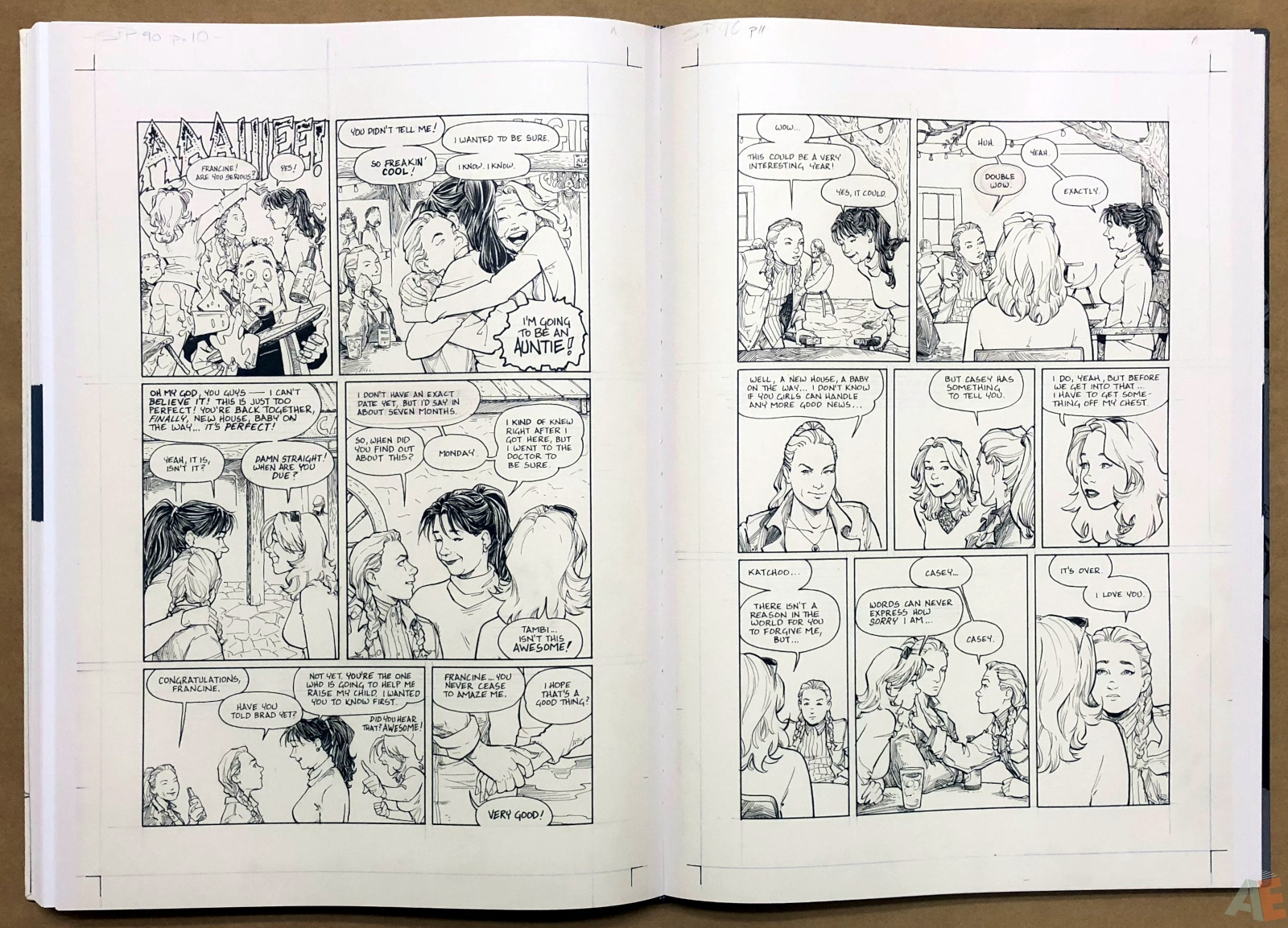 Terry Moore Strangers In Paradise Gallery Edition 32