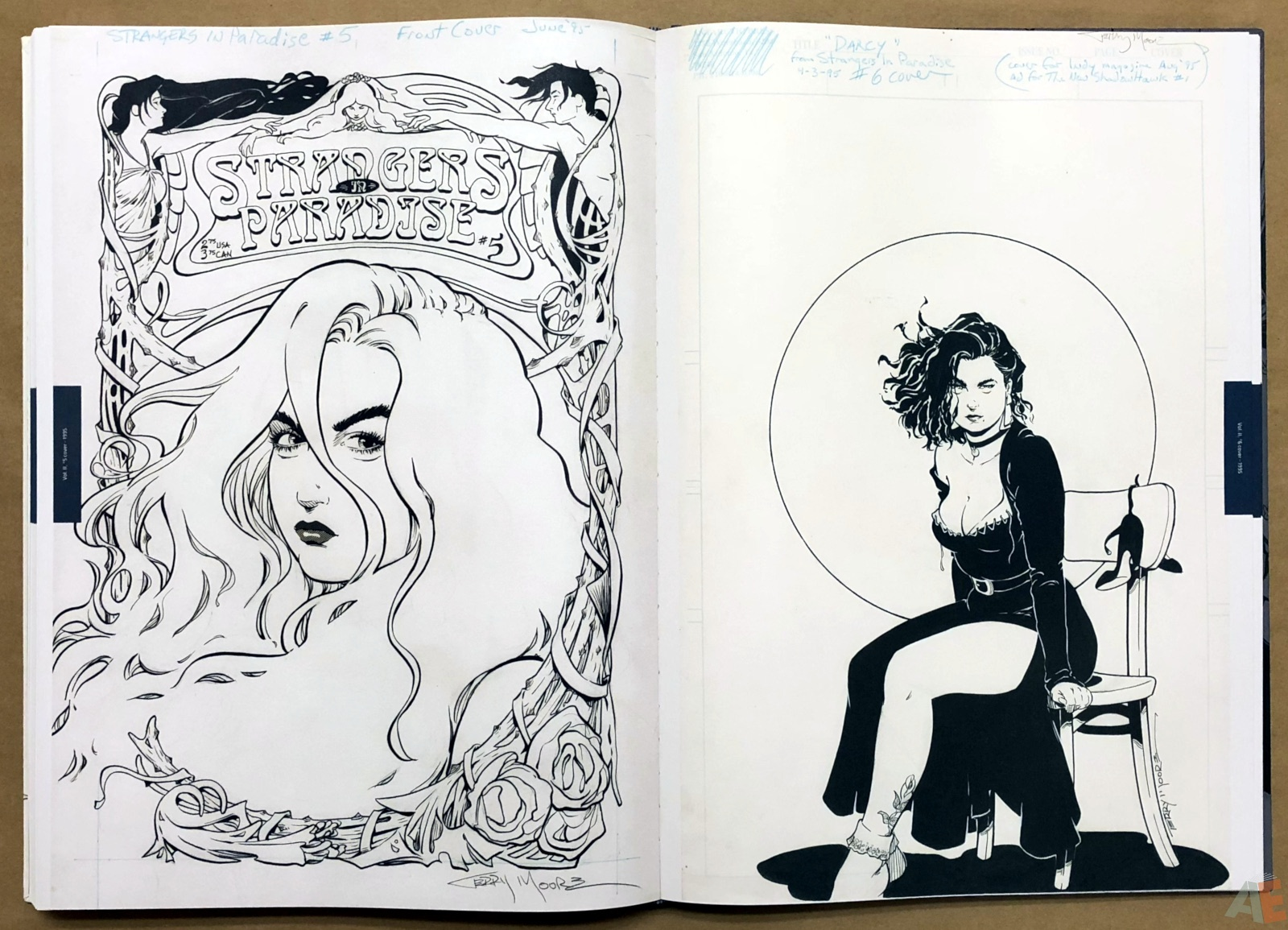 Terry Moore Strangers In Paradise Gallery Edition 38