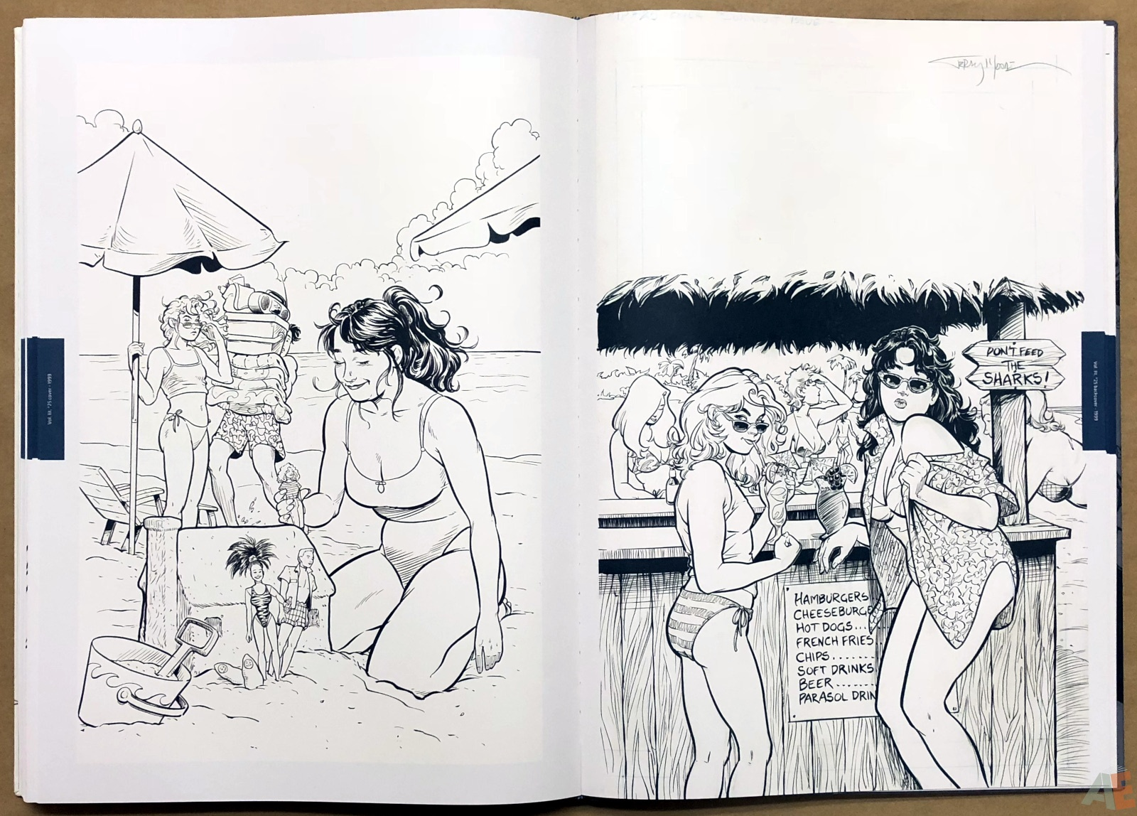 Terry Moore Strangers In Paradise Gallery Edition 42
